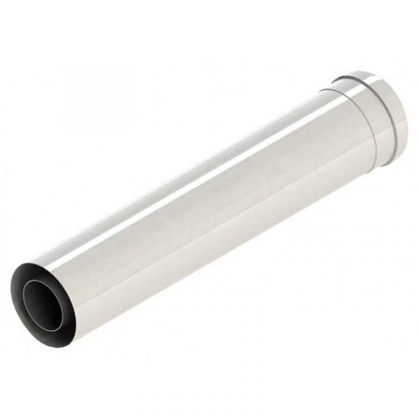 Barrido Удлинитель 250 мм коаксиального дымохода 60/100 (алюм.-алюм.)